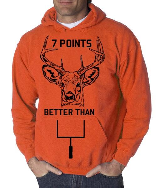 $35 Reward - Blaze Orange Hoodie and Flask