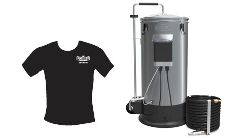 Grainfather and Early Adopter T Shirt
