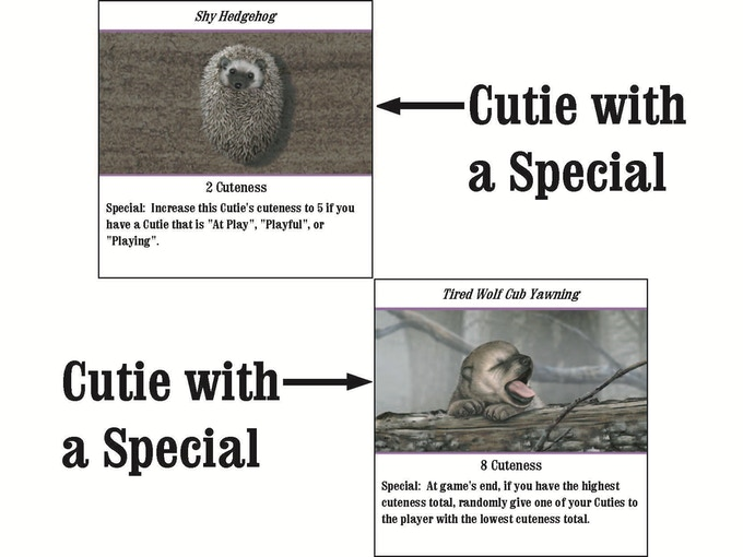 Example of Cuties with Specials