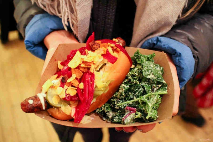 OUR LOADED DAWG W KALE CAESAR