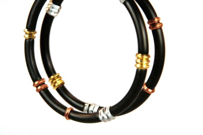 A handcrafted DO Ubuntu Bracelet, made by South African women
