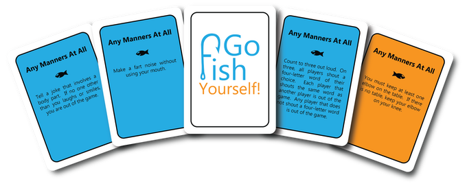 Go fish yourself by the go fish yourself team kickstarter for Go fish instructions