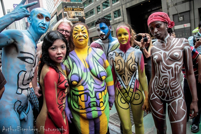 Weve Only Just Begun (BODY PAINTING DAY) New York City