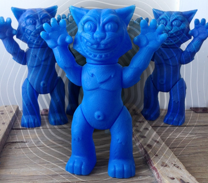 "9.75"" Tall with 5 Points of Articulation: The UK Wildcats Monster Mascot is ready to defend the team's honor!"