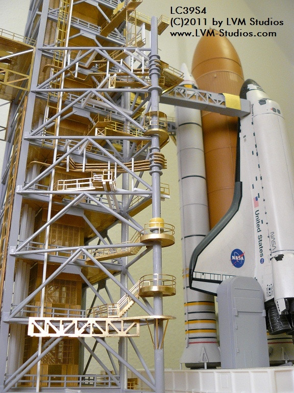 """Other product: Detail sets for Revell """"Space Shuttle Launch Tower"""""""