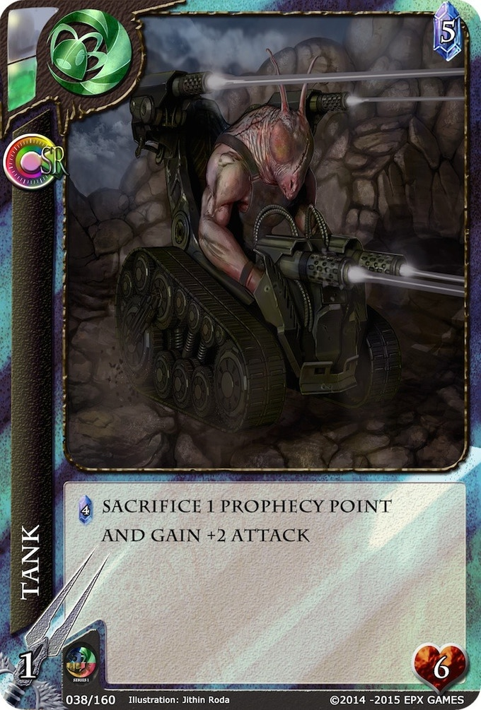 038 - Tank Level 1 Supporter Card
