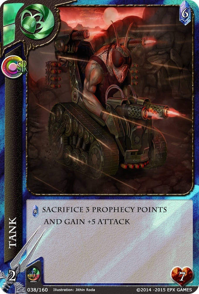038 - Tank Level 2 Supporter Card