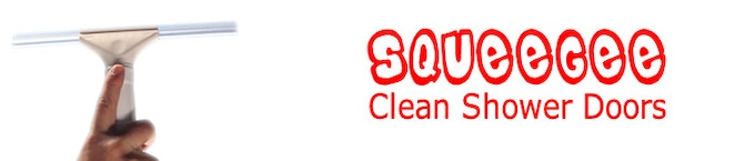 The squeegee makes cleaning shower doors and tile a breeze.