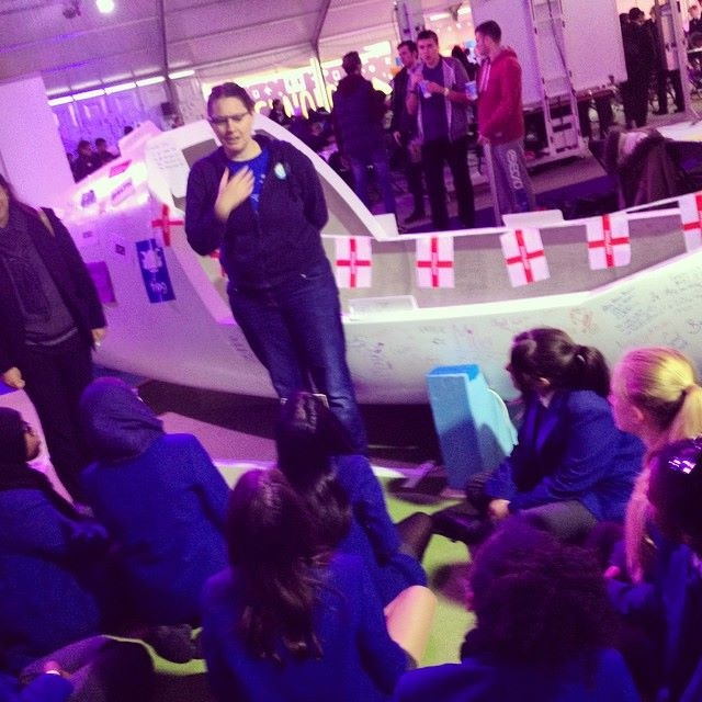 Using the expedition boat to engage students in Science, Technology, Engineering, and Maths (STEM).