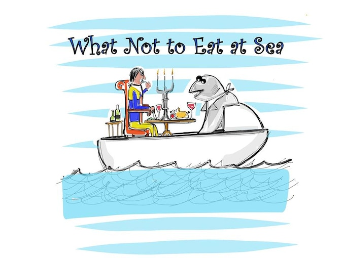 What Not to Eat at Sea: a science comedy show about the expedition, suitable for the whole family.