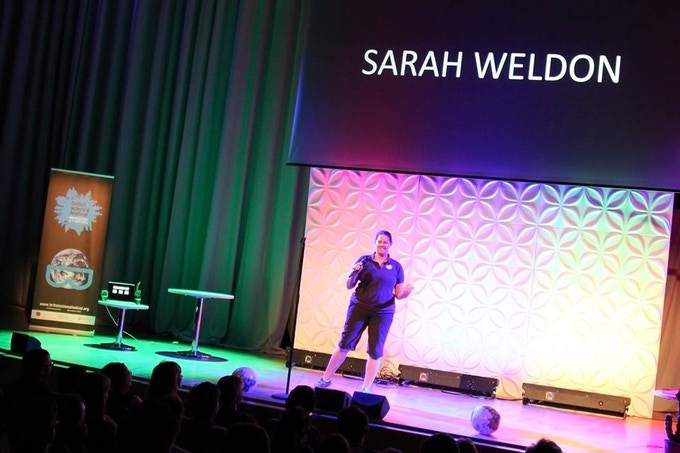 Here's another stand up comedy performance about the expedition and science, performed at the British Science Festival, Birmingham. The 'What Not to Eat at Sea' show will be a lot more eccentric than this one!