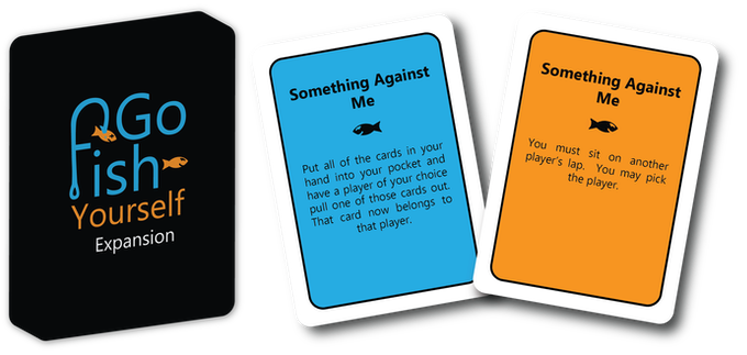 "The Expansion comes with 26 cards.  These challenges can push a person's comfort zone.  (The cards won't have ""Expansion"" on them)"