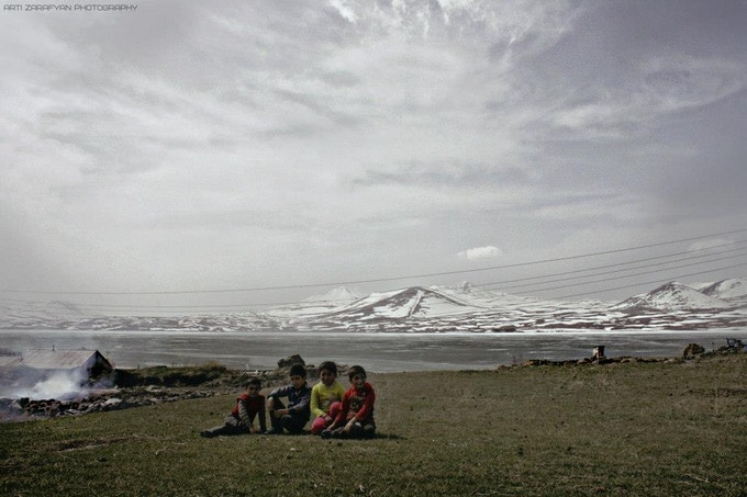 Photograph of Georgia by Arti Zarafyan, one of the founding children of Oceans Project