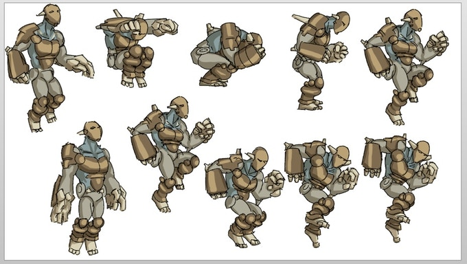 Early animation concepts