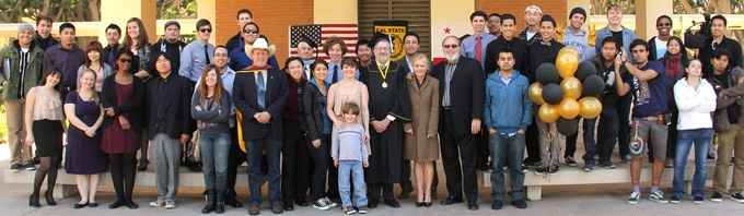 """The Cast and Crew of """"Steven Spielberg and the Return to Film School"""" (2013)"""