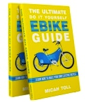 Micah Toll is offering his wonderful eBook to all backers with a NYX 2015 Frame kit: The Ultimate Do It Yourself EBIKE Guide