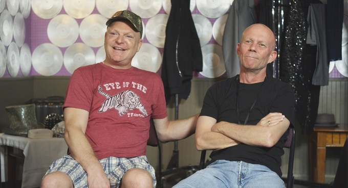 Interview with Andy Bell (left) and Vince Clarke (right) of Erasure, 2014