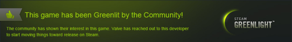 Approved by the Greenlight community!