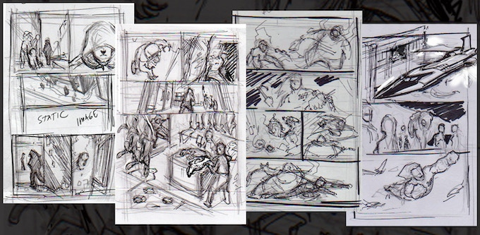 Page layouts by Bien Flores