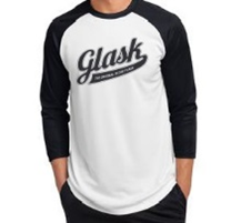 Original Glask Logo Baseball 3/4 Tee