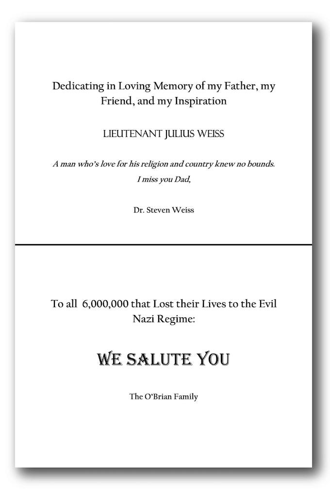 Reward #6 - Half Page Dedication