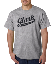 Original Glask Logo Gray T-shirt
