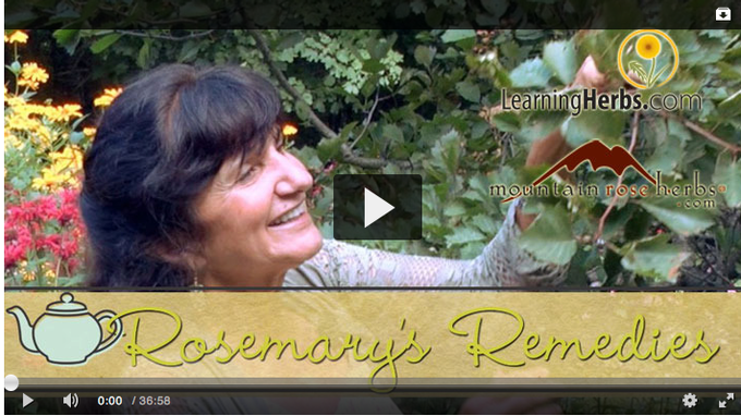 Rosemary's Remedies: A Video Series