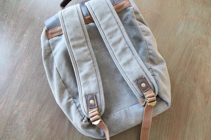 Padded shoulder straps for comfort