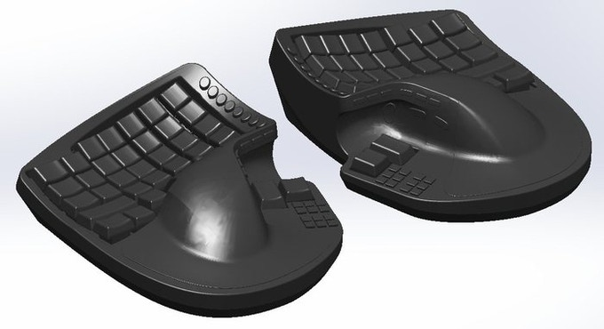04559311aad KeyMouse™ - The Keyboard and Mouse Re-invented! by KeyMouse ...