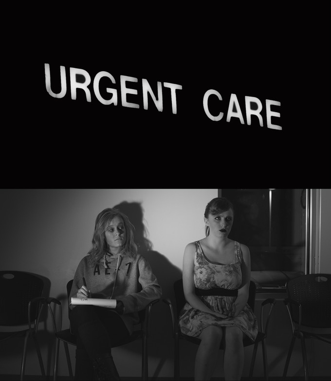 """""""Urgent Care"""" Blu-ray and DVD cover."""