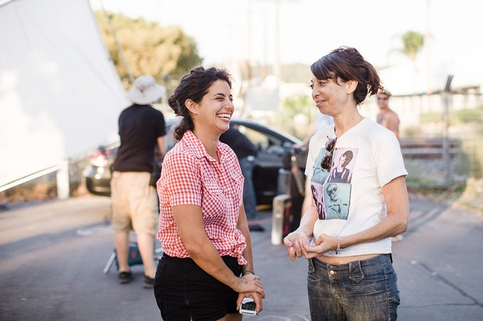 """""""What's making movies in Nyc with Scosese when I could be making a web series in Atwater village with Kahnweiler"""" -Illeana Douglas"""