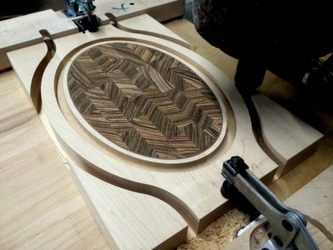 Construction of cutting board.