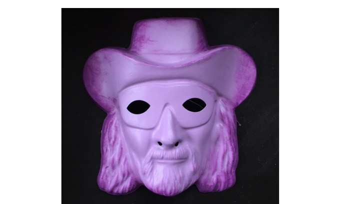 MACHO GHOST Mask Hand-painted by Lance Schibi!