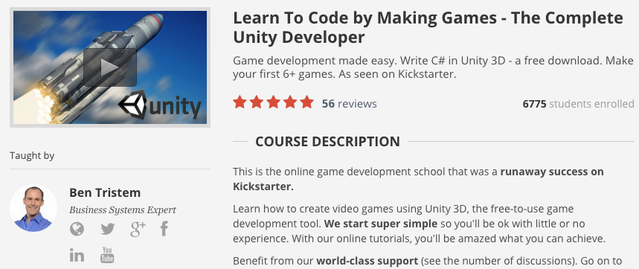How To Make Video Games Through Unity 3D - Online Course by