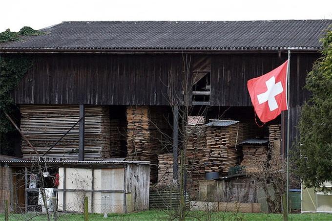 Graf Schlitten, wood storage