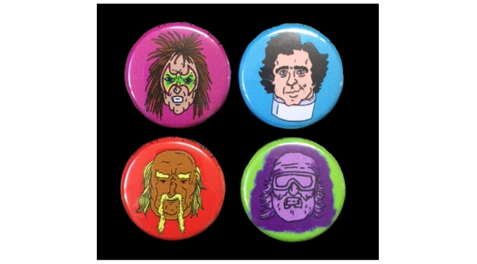 "FOR THE TITLE 1"" Character Buttons!"