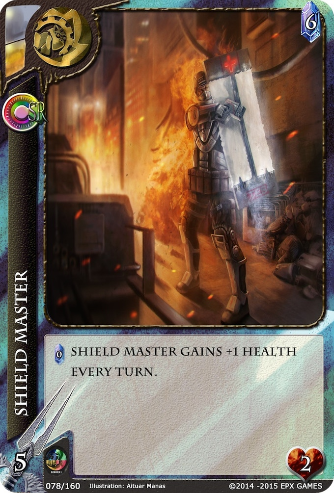 078 - Shield Master Level 1 Supporter Card