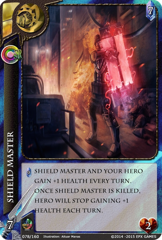 078 - Shield Master Level 2 Supporter Card