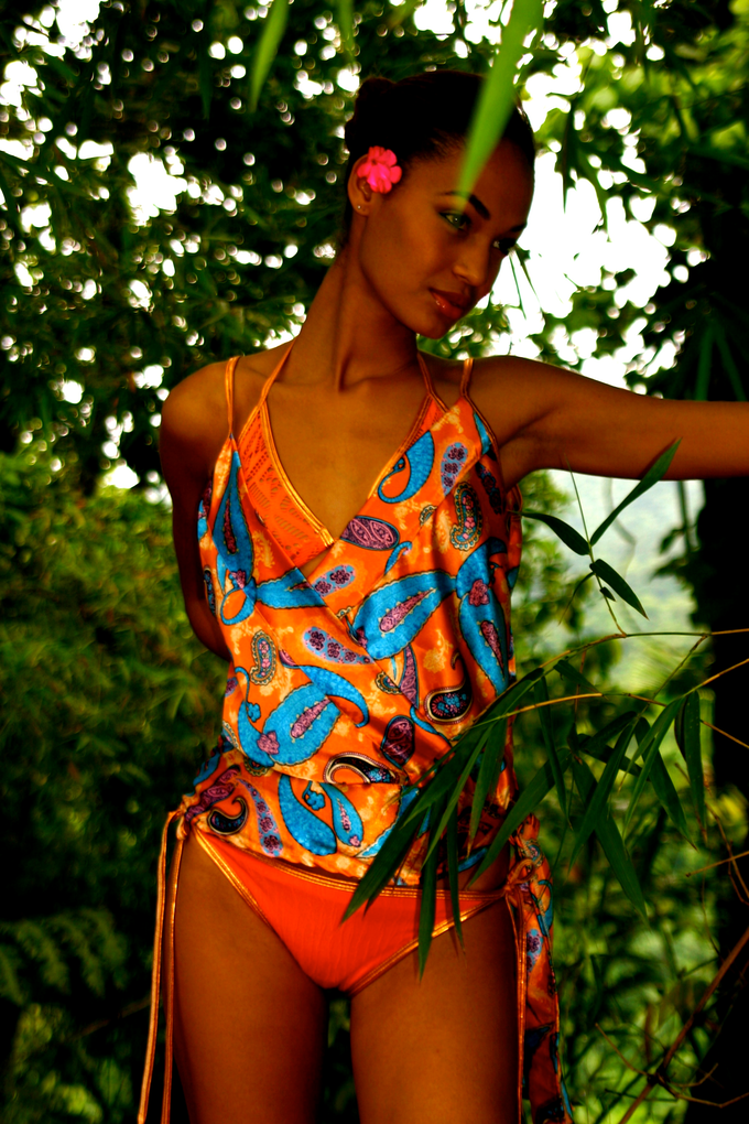 can win this beautiful piece Maillot d Bain by Beatriz from Puerto Rico