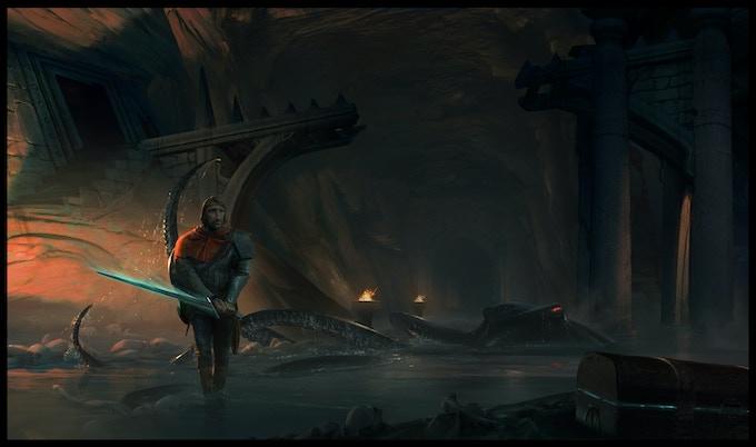 The labyrinth depths beckon. Dare ye enter?