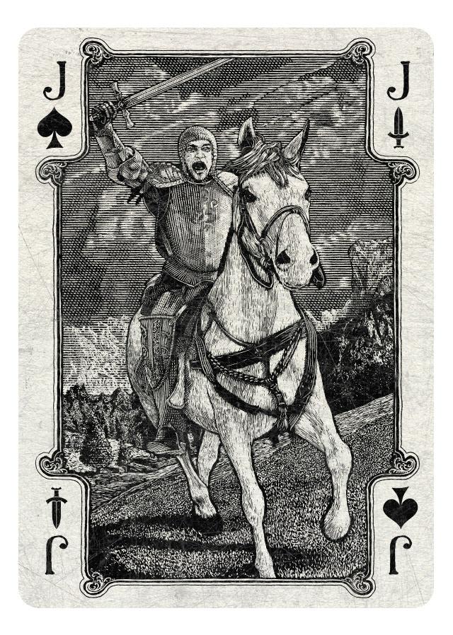 Jack of Spades/Swords light version