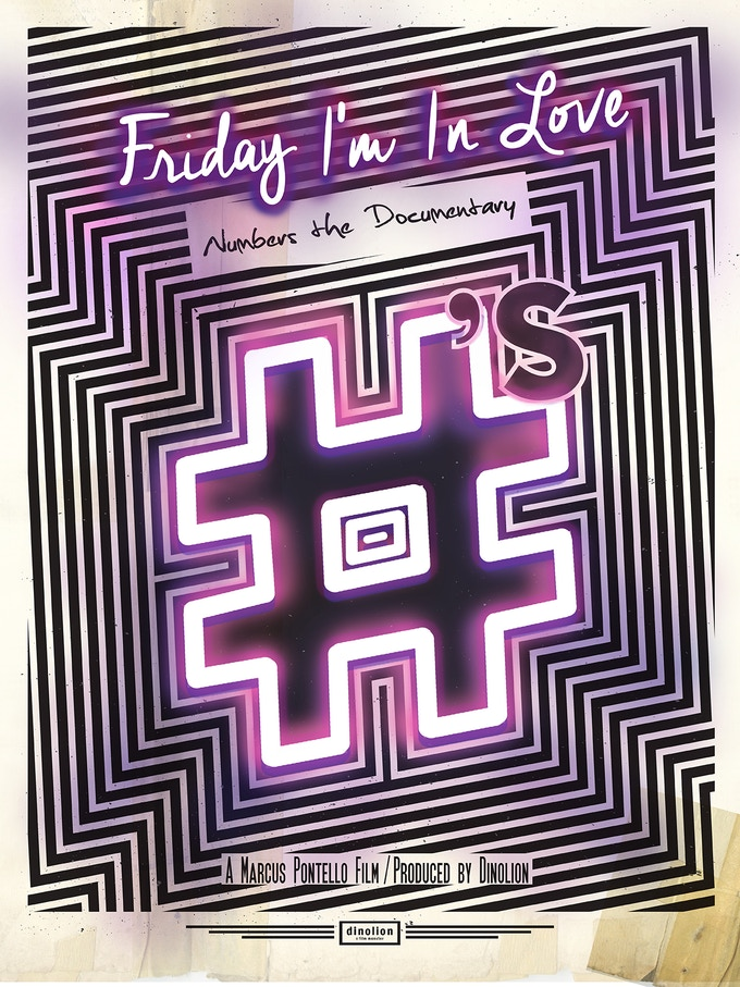 Friday I'm In Love poster designed by Erma Tijerina