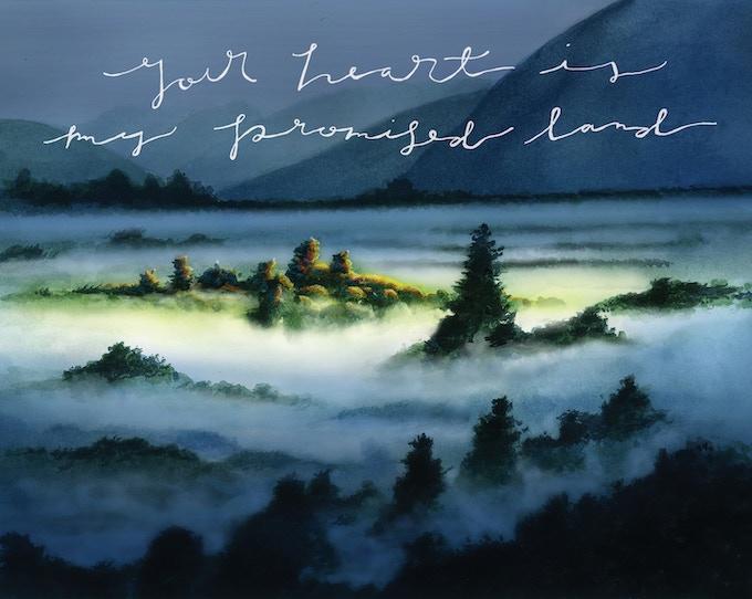 """Artwork: Daniel Kovasckitz (My father); Typography: Danielle Kovasckitz (My wife); 10"""" X 8"""""""