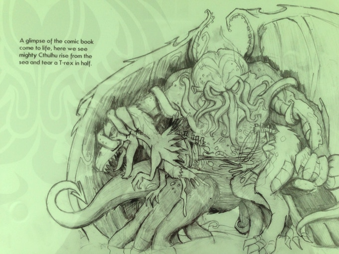 Remember when Cthulhu Ripped a T-Rex in Half?!