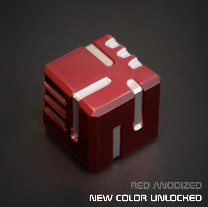 AKO DICE - Unlocked new color, Red Anodized!