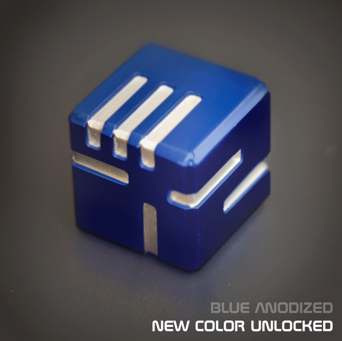 AKO DICE - Unlocked new color, Blue Anodized!