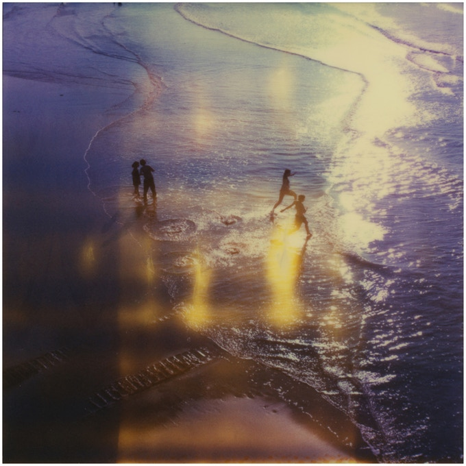 Polaroid SX-70, from Dreamlands Wastelands showing expired film effects