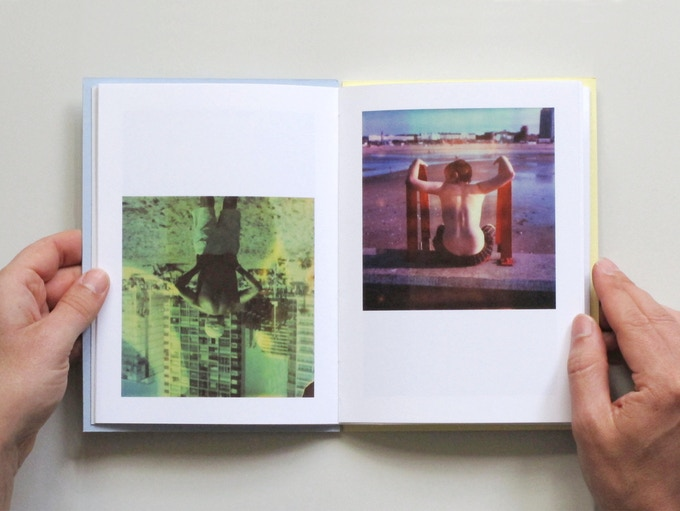 Inside spread from my book, Dreamlands Wastelands