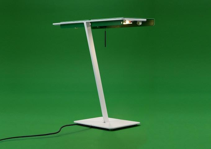 Bank LED desk lamp