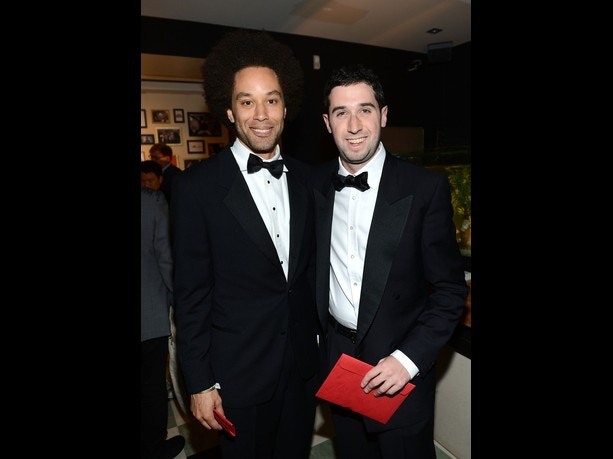 Jamund Washington & Adam Leon at the 65th Annual Cannes Film Festival, May 2012.